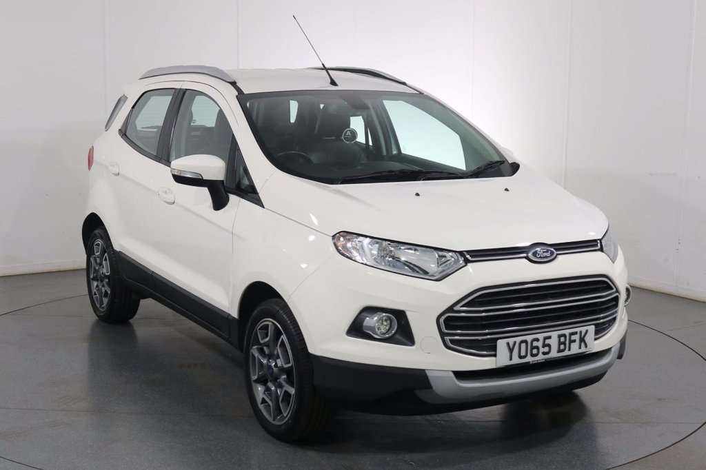 USED 2016 65 FORD ECOSPORT 1.0 TITANIUM 5d 124 BHP 2 OWNERS with 4 Stamp SERVICE HISTORY