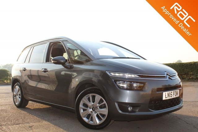 USED 2015 15 CITROEN C4 GRAND PICASSO 1.6 E-HDI EXCLUSIVE PLUS ETG6 5d 113 BHP VIEW AND RESERVE ONLINE OR CALL 01527-853940 FOR MORE INFO.