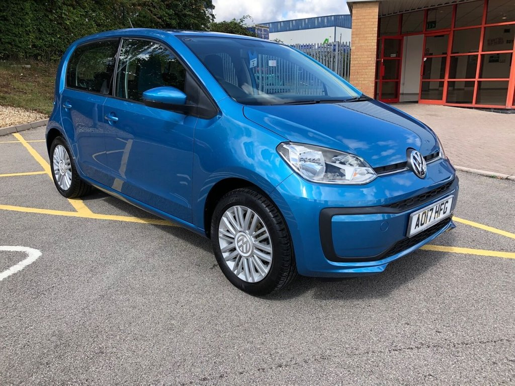 USED 2017 17 VOLKSWAGEN UP 1.0 MOVE UP 5d 60 BHP VERY LOW MILEAGE - EXCELLENT CONDITION!