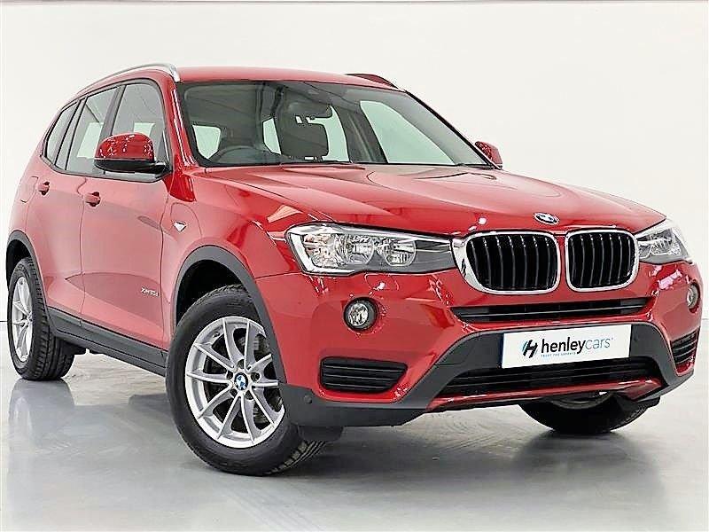 USED 2017 67 BMW X3 2.0 XDRIVE 20D SE