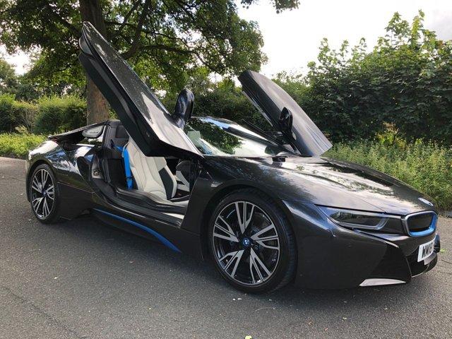 2018 18 BMW I8 1.5 I8 ROADSTER 2d 369 BHP