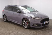 USED 2016 16 FORD FOCUS 2.0 ST-3 TDCI 5DR 1 OWNER AUTO 183 BHP FULL FORD SERVICE HISTORY + £30 12 MONTHS ROAD TAX + HEATED LEATHER SEATS + SATELLITE NAVIGATION + PARKING SENSOR + BLUETOOTH + CRUISE CONTROL + CLIMATE CONTROL + MULTI FUNCTION WHEEL + RECARO SPORT SEATS + XENON HEADLIGHTS + PRIVACY GLASS + DAB RADIO + AUX/USB PORTS + ELECTRIC FRONT SEATS + ELECTRIC WINDOWS + ELECTRIC/HEATED/FOLDING DOOR MIRRORS + 18 INCH ALLOY WHEELS