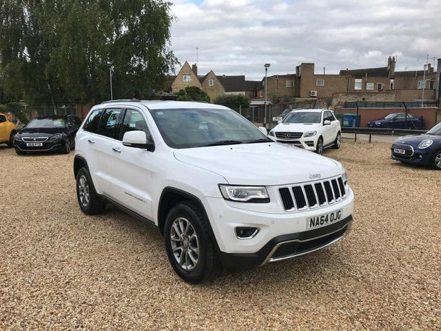 USED 2014 64 JEEP GRAND CHEROKEE 3.0 V6 CRD Limited Auto 4WD 5dr Sat Nav, DAB & Leather