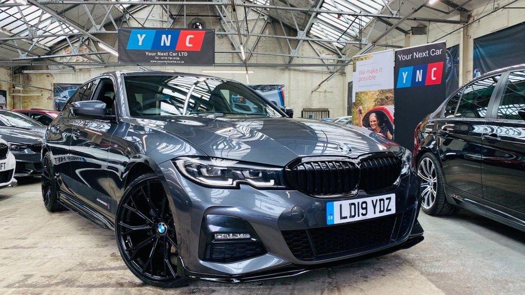 USED 2019 19 BMW 3 SERIES 2.0 320i M Sport Auto (s/s) 4dr PEFORMANCEKIT+20S+G20320i