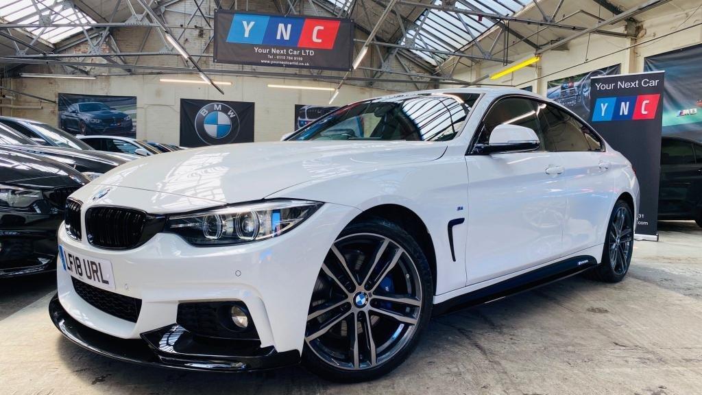 USED 2018 18 BMW 4 SERIES 2.0 420d M Sport Gran Coupe Auto (s/s) 5dr PERFORMANCEKIT+PLUSPACK+19S