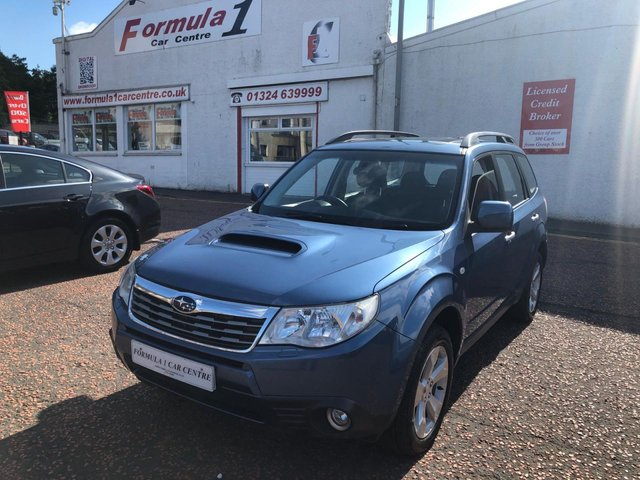 USED 2010 60 SUBARU FORESTER 2.0 D XC 5d 147 BHP