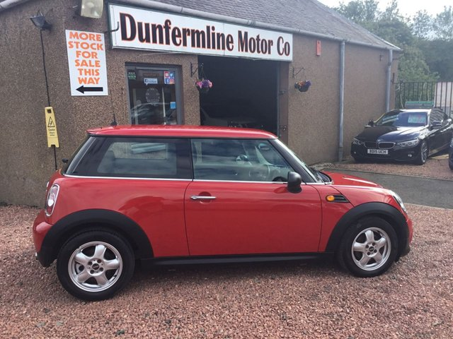 USED 2010 60 MINI HATCH ONE 1.6 ONE 3d 98 BHP ++12 MONTHS AA BREAKDOWN COVER++
