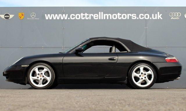 1999 V PORSCHE 911 3.4 CARRERA CABRIOLET 2d 300 BHP