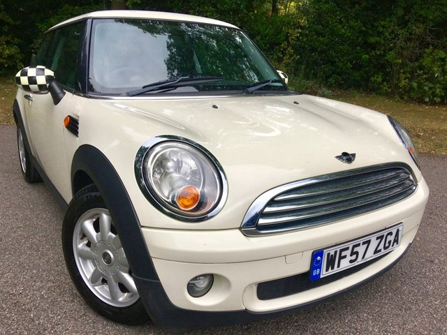 2007 57 MINI HATCH ONE 1.4 ONE 3d 94 BHP PART EXCHANGE TO CLEAR / BIG SERVICE IN FEB 2020 / NEW MOT JUST DONE