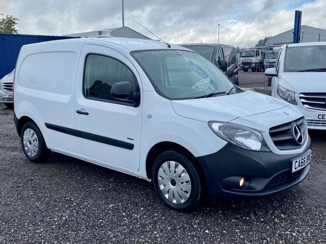 2016 66 MERCEDES-BENZ CITAN 1.5 109 CDI BLUEEFFICIENCY 90 BHP EURO 6