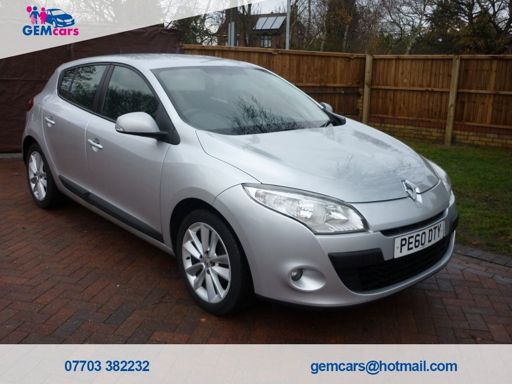 USED 2010 60 RENAULT MEGANE 1.6 I-MUSIC VVT 5d 100 BHP GO TO OUR WEBSITE TO WATCH A FULL WALKROUND VIDEO