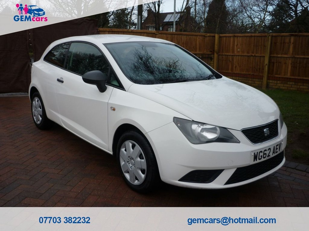 USED 2012 62 SEAT IBIZA 1.2 CR TDI S 3d 74 BHP GO TO OUR WEBSITE TO WATCH A FULL WALKROUND VIDEO