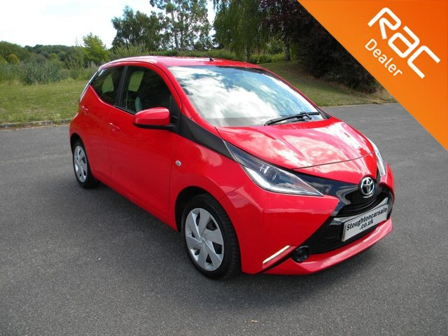 USED 2018 18 TOYOTA AYGO 1.0 VVT-I X-PLAY 5d 69 BHP BY APPOINTMENT ONLY - Still Under Toyota Warranty!, DAB, Bluetooth, Air Con, Cruise Control, Reversing Camera