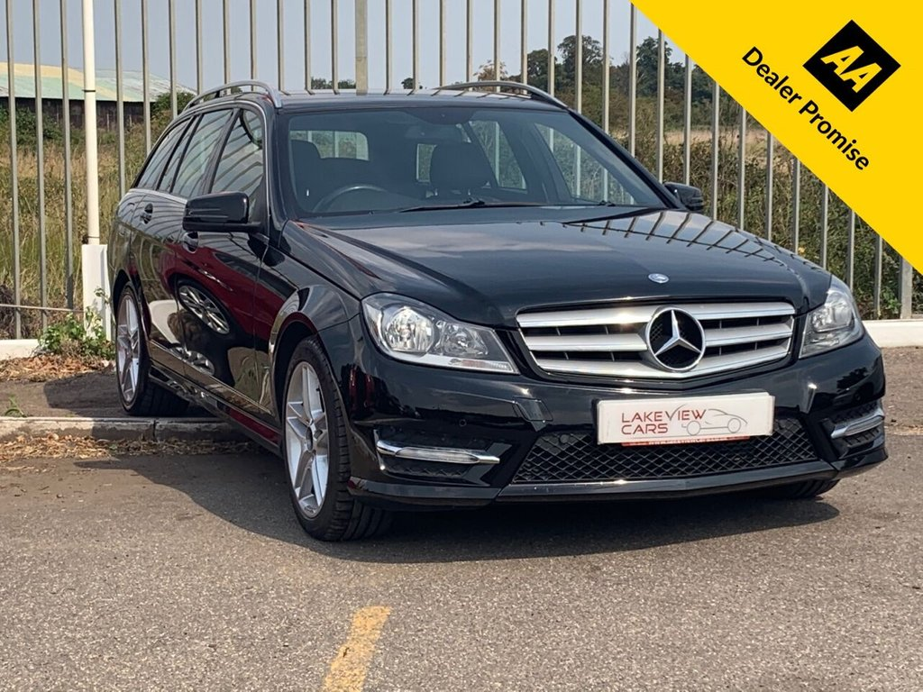 USED 2012 62 MERCEDES-BENZ C-CLASS 2.1 C220 CDI BLUEEFFICIENCY AMG SPORT 5d 168 BHP