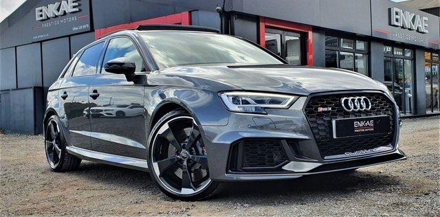 2017 67 AUDI RS3 2.5 RS 3 QUATTRO 5d 395 BHP