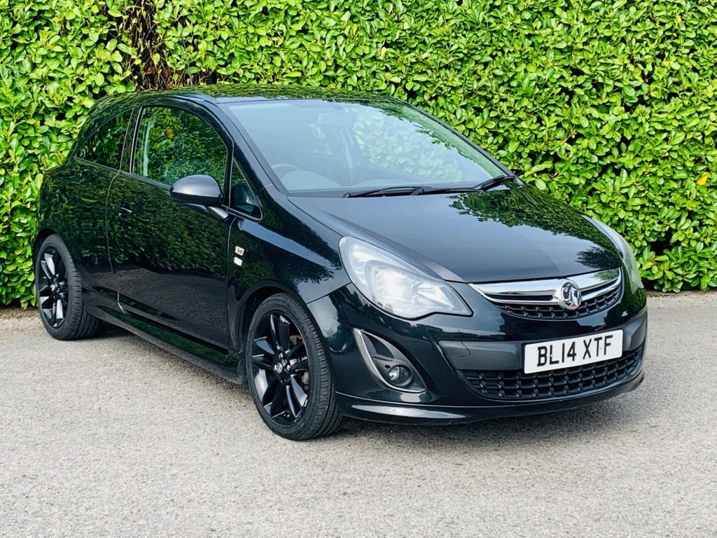 USED 2014 10 VAUXHALL CORSA 1.2 LIMITED EDITION 3d 83 BHP