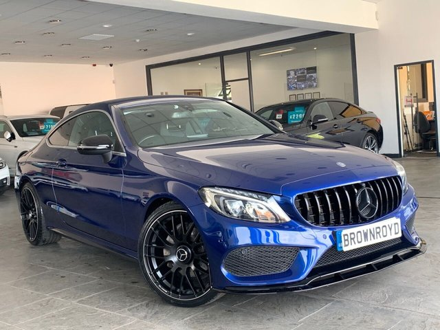 USED 2016 66 MERCEDES-BENZ C-CLASS 2.1 C 220 D AMG LINE 2d 168 BHP +BRM BODY STYLING+6.9%APR+