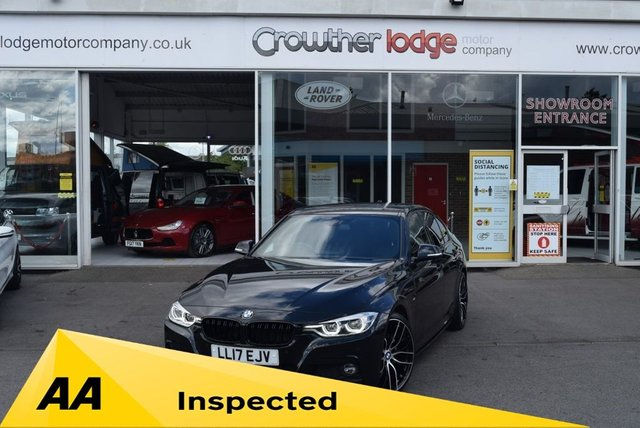 USED 2017 17 BMW 3 SERIES 3.0 330D M SPORT 4d 255 BHP FINANCE TODAY WITH NO DEPOSIT - BMW SERVICE HISTORY