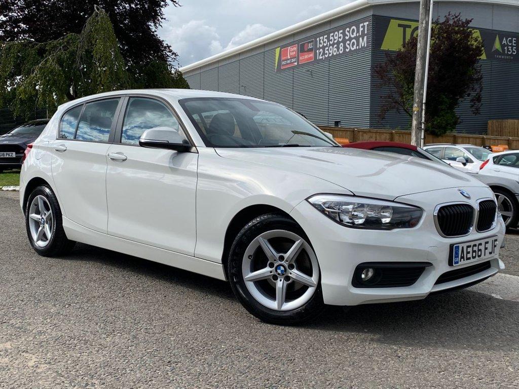 USED 2016 66 BMW 1 SERIES 1.5 118i SE 5 Door £30 TAX, 1 OWNER, SAT NAV, A/C