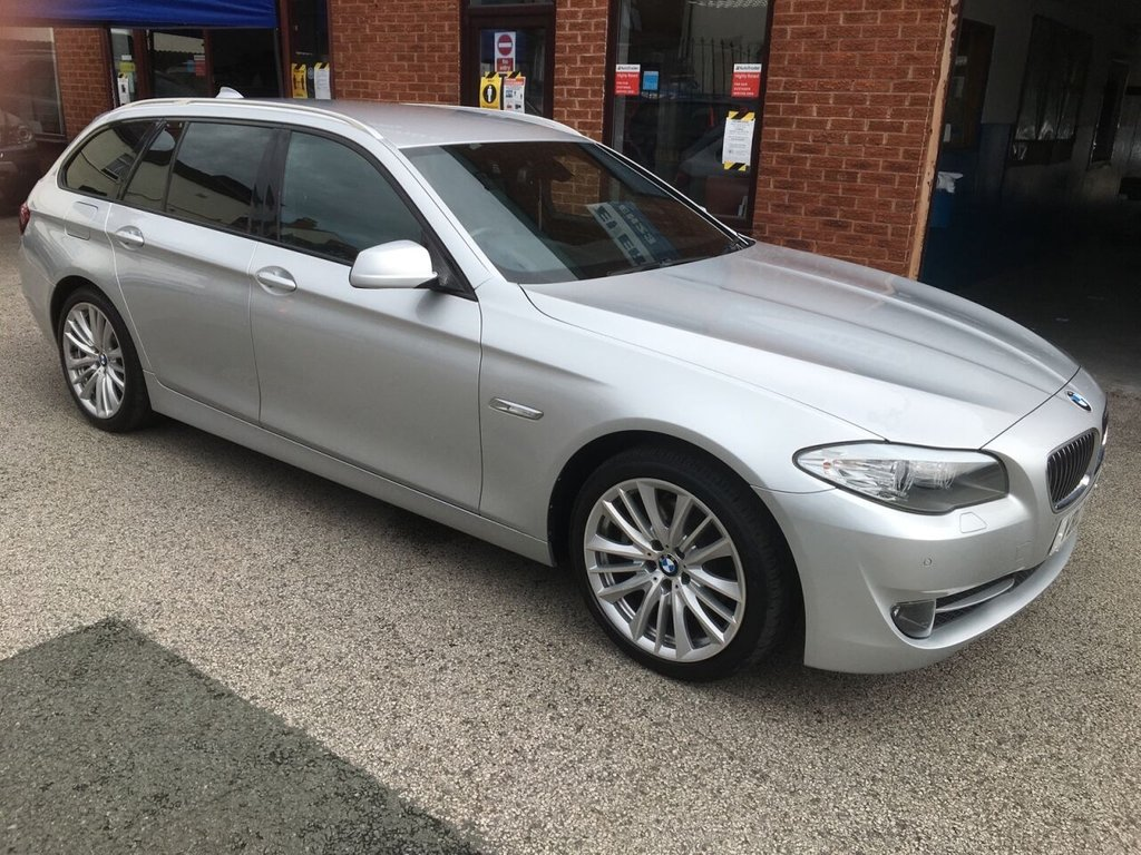 USED 2012 12 BMW 5 SERIES 2.0 520D SE TOURING 5d 181 BHP FULL BMW SERVICE HISTORY