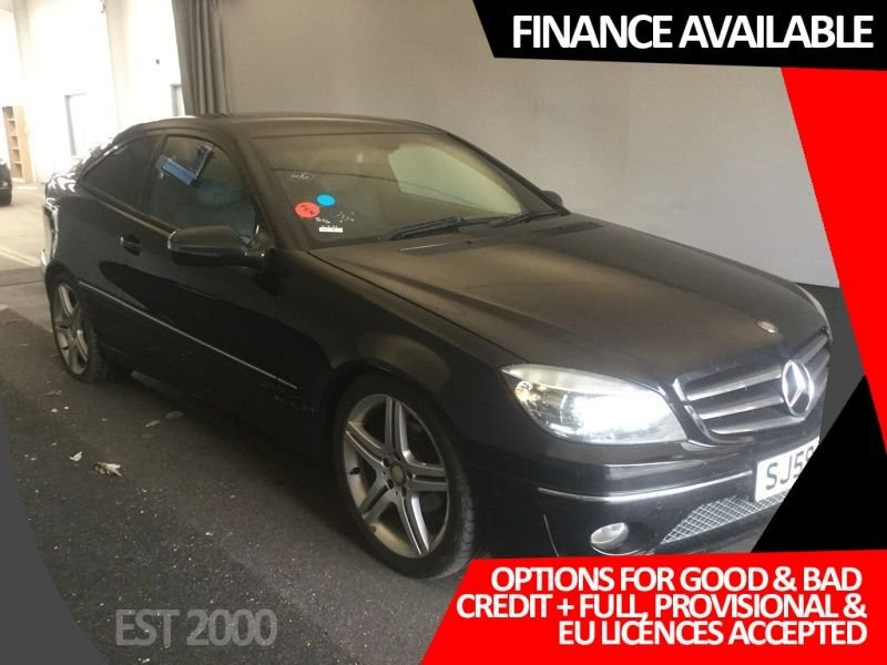 USED 2009 59 MERCEDES-BENZ CLC CLASS 2.1 CLC220 CDI SPORT 3d 150 BHP * 2 TONE LEATHER * CRUISE * PADDLE SHIFT *