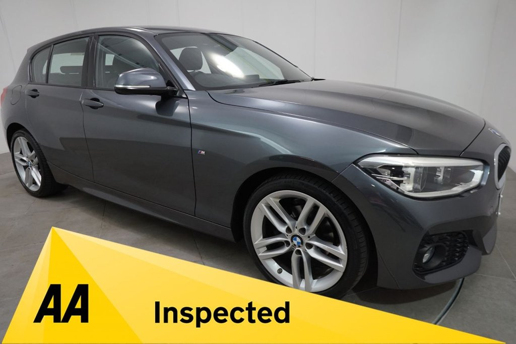 USED 2017 17 BMW 1 SERIES 2.0 118D M SPORT 5d 147 BHP NAVIGATION
