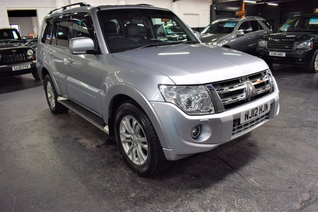 USED 2012 12 MITSUBISHI SHOGUN 3.2 DI-D SG3 5d 197 BHP 7 SEATS LOVELY CONDITION THROUGHOUT - SG3 - 9 STAMPS TO 79K - LEATHER - NAV - HEATED SEATS - SUNROOF - TOWBAR