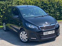 USED 2017 67 PEUGEOT 108 1.0 ACTIVE 5d 68 BHP LOW MILEAGE STARTER CAR