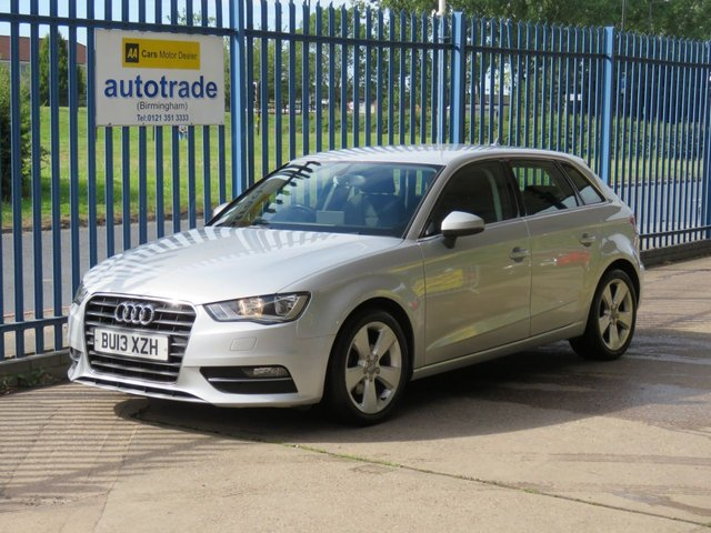 USED 2013 13 AUDI A3 2.0 TDI SPORT 5d 148 BHP SAT NAV, 1 OWNER, SERVICE HISTORY, BLUETOOTH, CLIMATE CONTROL 1 OWNER, SERVICE HISTORY, SATELLITE NAVIGATION, BLUETOOTH, CLIMATE CONTROL,