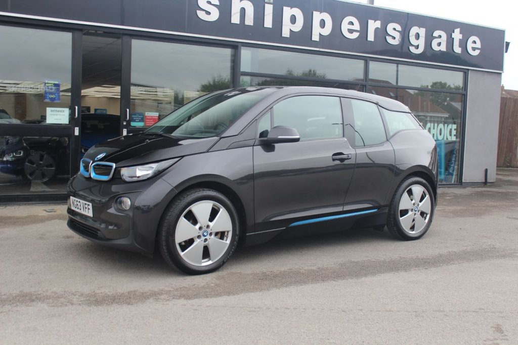 USED 2014 63 BMW I3 0.0 I3 5d 168 BHP Laurus Grey Metallic, Full Leather Interior, Navigation System Professional, DAB Tuner, Comfort Pack, Rapid Charging, Rain Sensor, Automatic Air Conditioning, Cruise Control With Brake Function, LED Light Elements, Storage Compartment Package, Multifunction Steering Wheel, Tyre Pressure Display, Auto Dip Mirrors, Drinks Holder, Front Armrest, 2 Keys and Book Pack, BMW Service History.