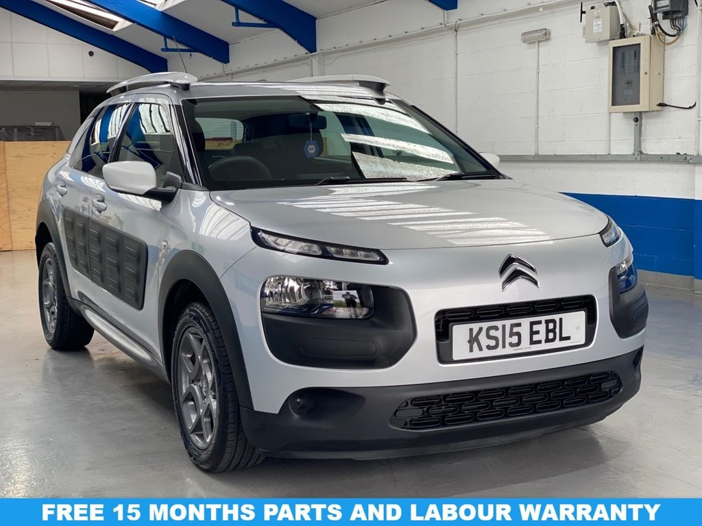 USED 2015 15 CITROEN C4 CACTUS 1.6 BLUEHDI FEEL 5d 98 BHP **FULL SERVICE HISTORY**FREE ROAD TAX**