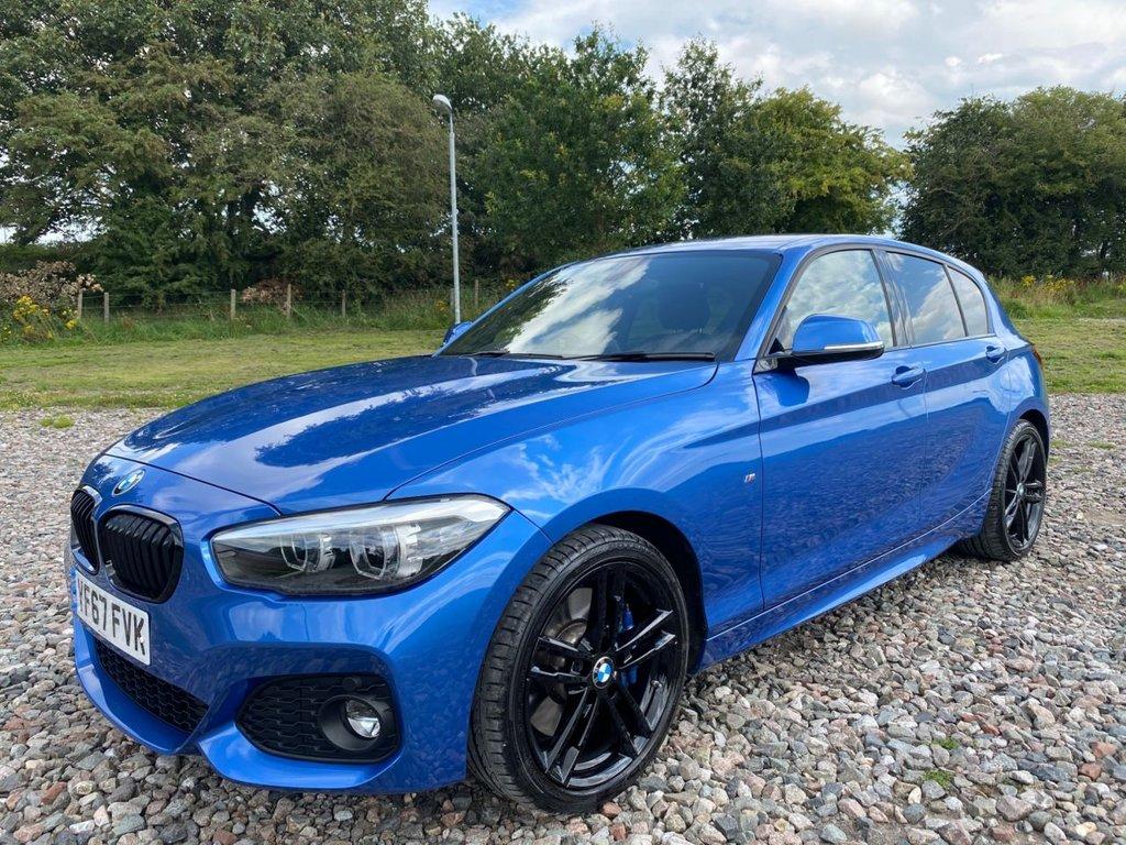 USED 2017 67 BMW 1 SERIES 1.5 118I M SPORT SHADOW EDITION 5d 134 BHP