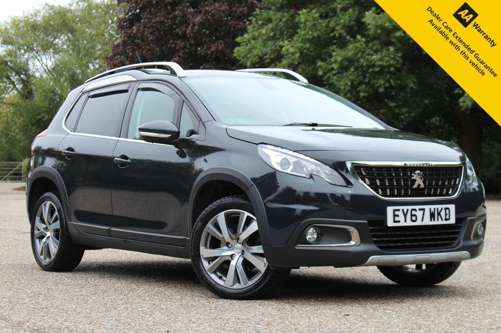 USED 2017 67 PEUGEOT 2008 1.2 PURETECH S/S ALLURE 5d 110 BHP ** FULL PEUGEOT SERVICE HISTORY ** BRAND NEW ADVISORY FREE MOT ** REAR PARKING AID ** APPLE CAR PLAY / ANDROID AUTO ** TOUCHSCREEN MEDIA INTERFACE ** CRUISE CONTROL ** BLUETOOTH ** CLIMATE CONTROL ** GRIP CONTROL ** ULEZ CHARGE EXEMPT ** LOW RATE £0 DEPOSIT FINANCE AVAILABLE ** NATIONWIDE DELIVERY AVAILABLE ** CLICK & COLLECT AVAILABLE **