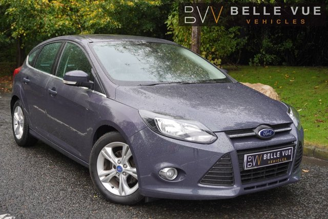 USED 2013 62 FORD FOCUS 1.6 ZETEC TDCI 5d 113 BHP *£20 ROAD TAX, DAB, BLUETOOTH, AUX!*