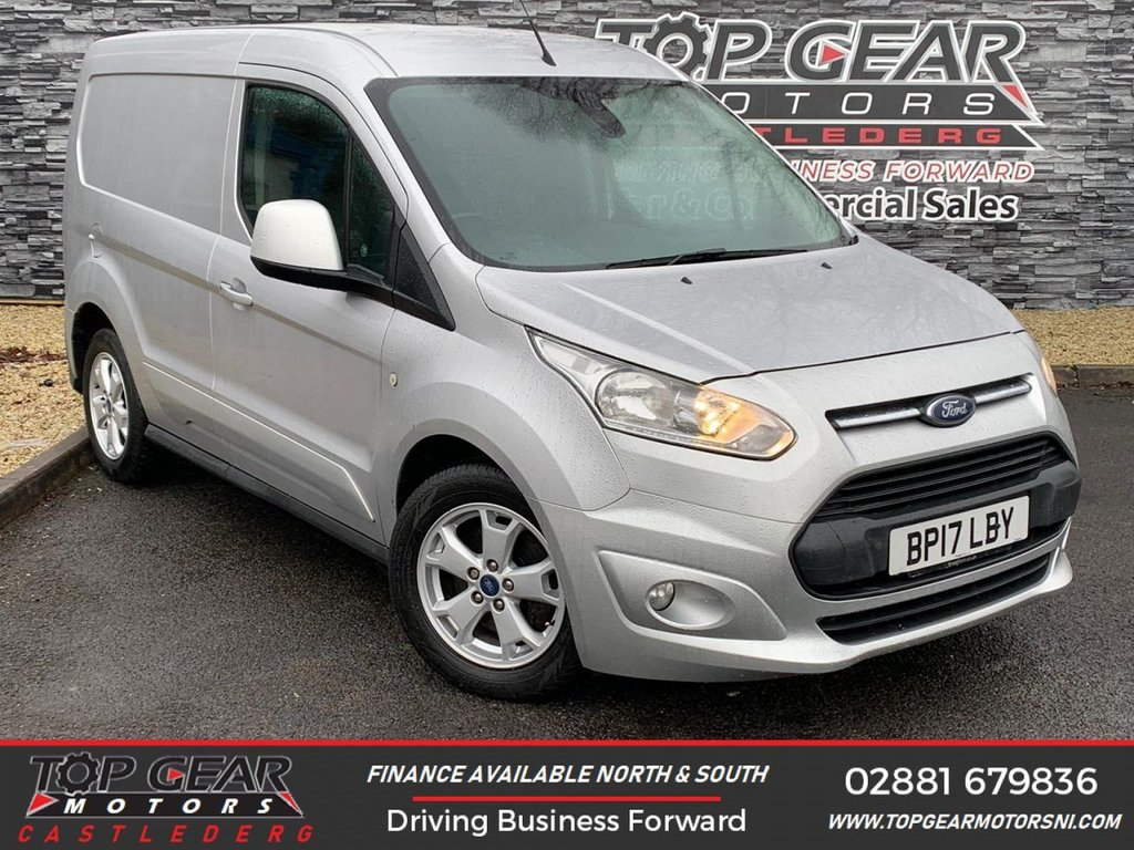 USED 2017 17 FORD TRANSIT CONNECT 200 LIMITED 1.5 120 BHP **OVER 90 VEHICLES IN STOCK** ** HEATED SEATS, CRUISE CONTROL, A/C, PARKING SENSORS **