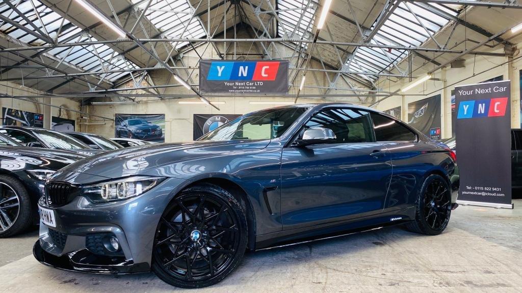 USED 2018 18 BMW 4 SERIES 3.0 430d M Sport Auto (s/s) 2dr PERFORMANCEKIT+20S+FACELIFT