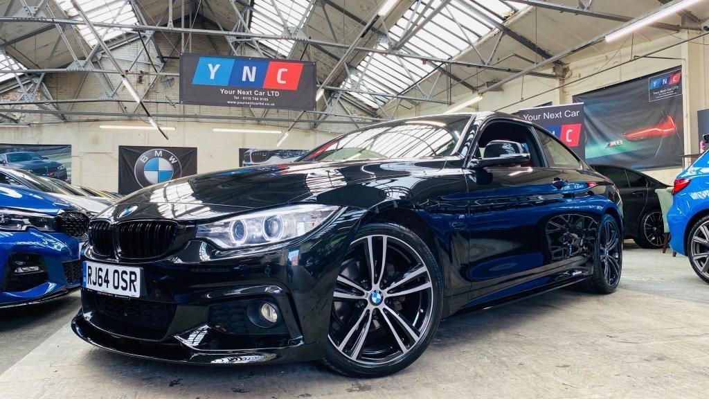 USED 2014 64 BMW 4 SERIES 2.0 420d M Sport 2dr PERFORMANCEKIT+19S+6SPMANUAL