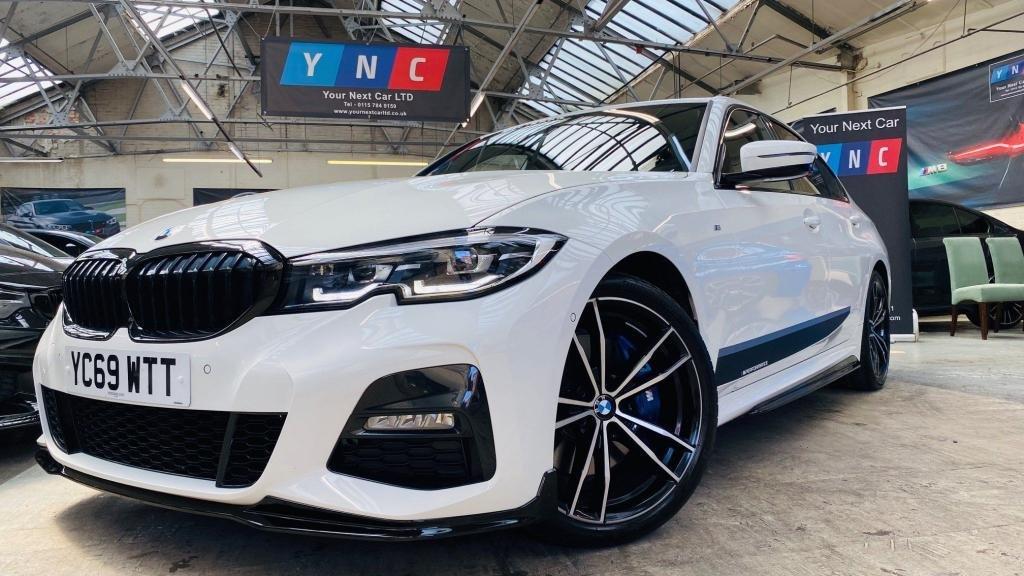 USED 2019 69 BMW 3 SERIES 2.0 320i M Sport Auto (s/s) 4dr PERFORMANCEKIT+COMFORT&MPLUS
