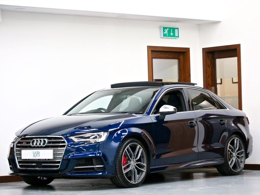 USED 2017 67 AUDI S3 2.0 TFSI S Tronic quattro (s/s) 4dr PAN ROOF +VIRTUAL CP+ SS SEATS