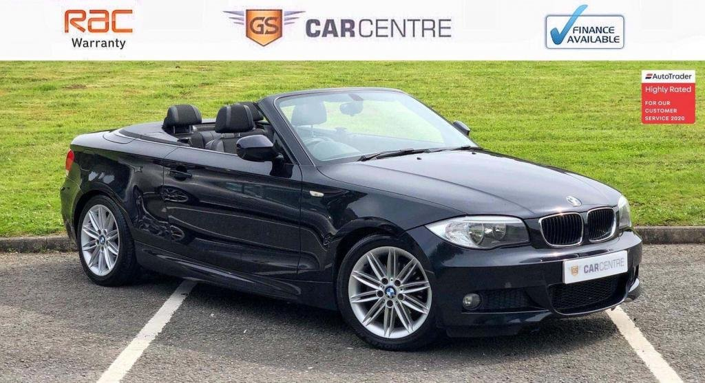 USED 2012 BMW 1 SERIES 2.0 120d M Sport 2dr Half Leather+Sensors+ 2 Owners