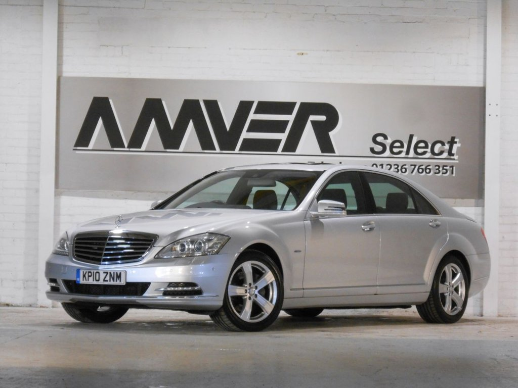 USED 2010 10 MERCEDES-BENZ S-CLASS 3.0 S350 CDI BLUEEFFICIENCY L 4d 235 BHP