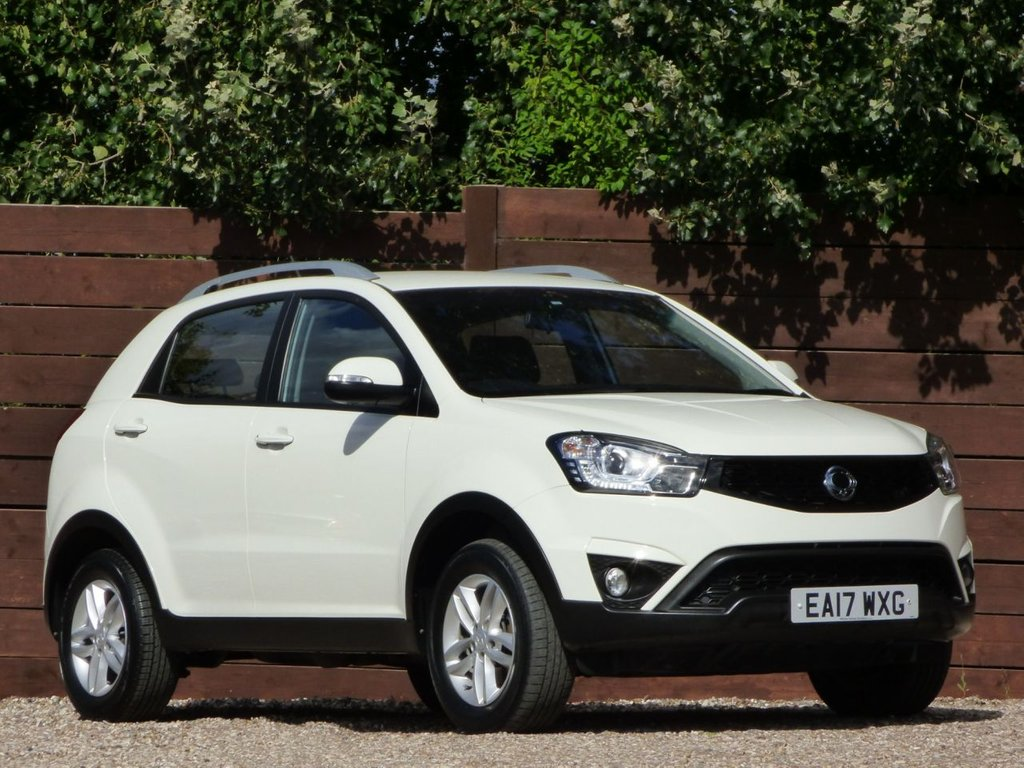 USED 2017 17 SSANGYONG KORANDO 2.2 SE 5d 176 BHP *** 7 YEARS SSANGYONG WARRANTY ***