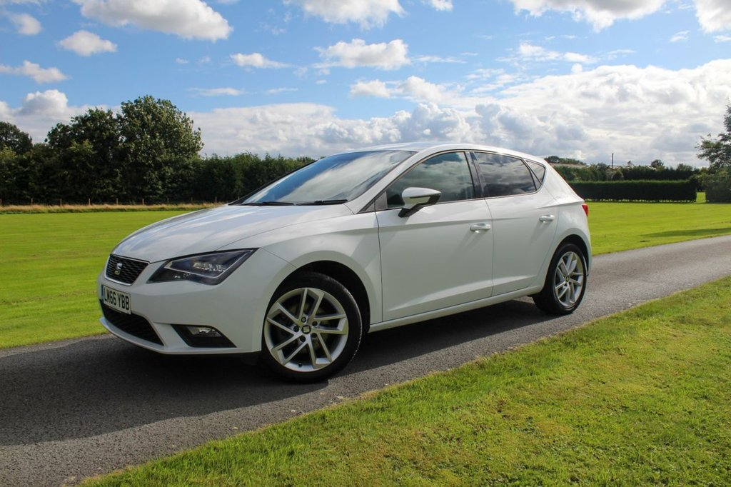 USED 2016 66 SEAT LEON 1.6 TDI SE TECHNOLOGY 5d 110 BHP OVER 800 5* Reviews