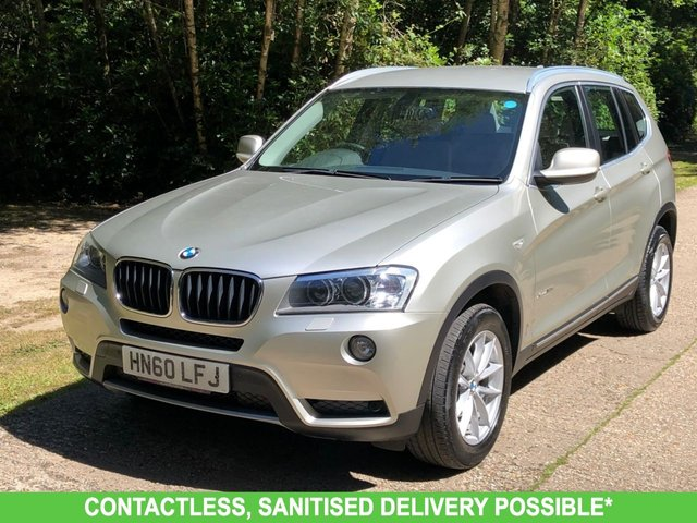 USED 2010 60 BMW X3 2.0 XDRIVE20D SE 5d 181 BHP 1 OWNER  FBSH, MANY EXTRAS, FINANCE ME TODAY-UK DELIVERY POSSIBLE
