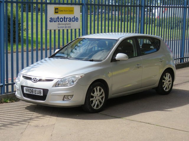 USED 2008 08 HYUNDAI I30 1.6 STYLE 5dr 121 1/2 Leather Fogs Alloys Auto lights ulez compliant Service History & Air Conditioning ULEZ Compliant