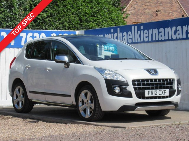 USED 2012 12 PEUGEOT 3008 1.6 ALLURE E-HDI FAP 5d 112 BHP LOVELY VEHICLE WITH TOP SPEC