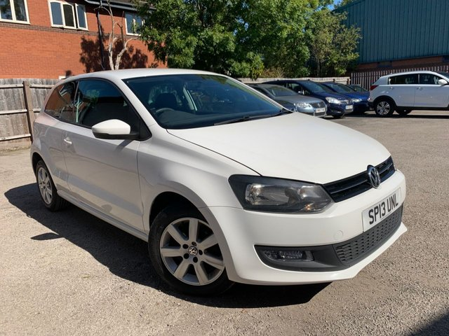 USED 2013 13 VOLKSWAGEN POLO 1.4 MATCH 3d 83 BHP AIR CONDITIONING, AUX, RECENT CAMBELT CHANGE SEPT 2020