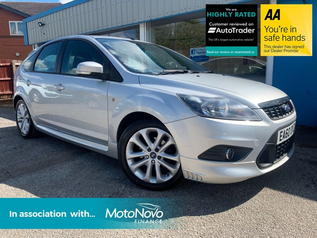 USED 2010 60 FORD FOCUS 1.6 ZETEC S TDCI 5d 109 BHP SAT NAV, BLUETOOTH, £30 A YEAR ROAD TAX, HEATED FRONT SCREEN