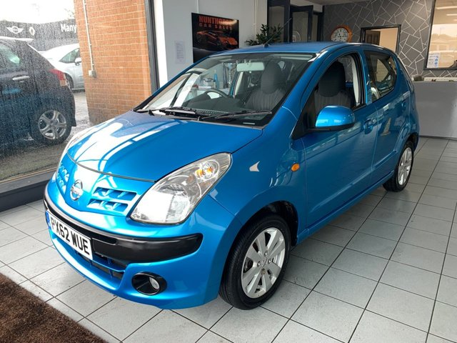 USED 2012 62 NISSAN PIXO 1.0 N-TEC 5d 67 BHP 1 LADY OWNER*FULL MD HISTORY*LOW MILEAGE