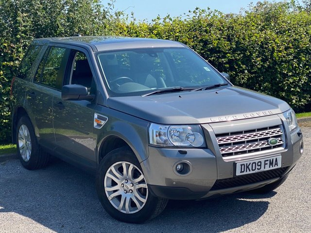 USED 2009 09 LAND ROVER FREELANDER 2.2 TD4 SE 5d 159 BHP FULL HEATED LEATHER INTERIOR, ALLOYS